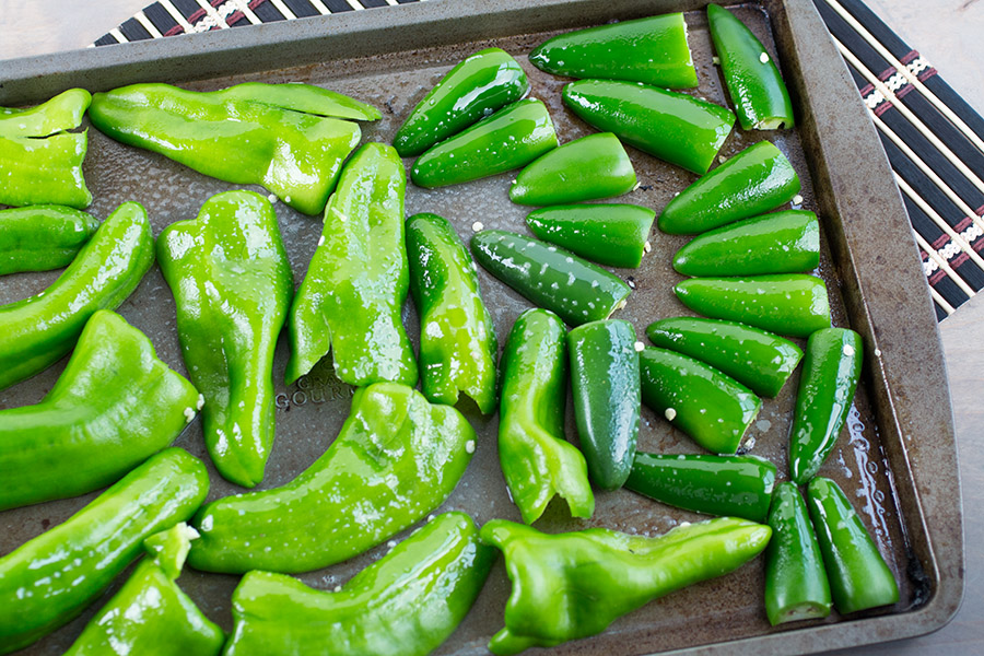 How to Freeze Roasted Chili Peppers