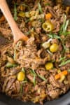 Feisty Italian Slow Cooker Pot Roast - Recipe