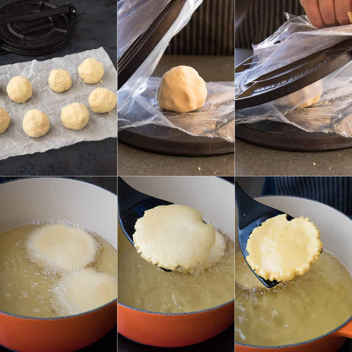 Making Mexican Gorditas