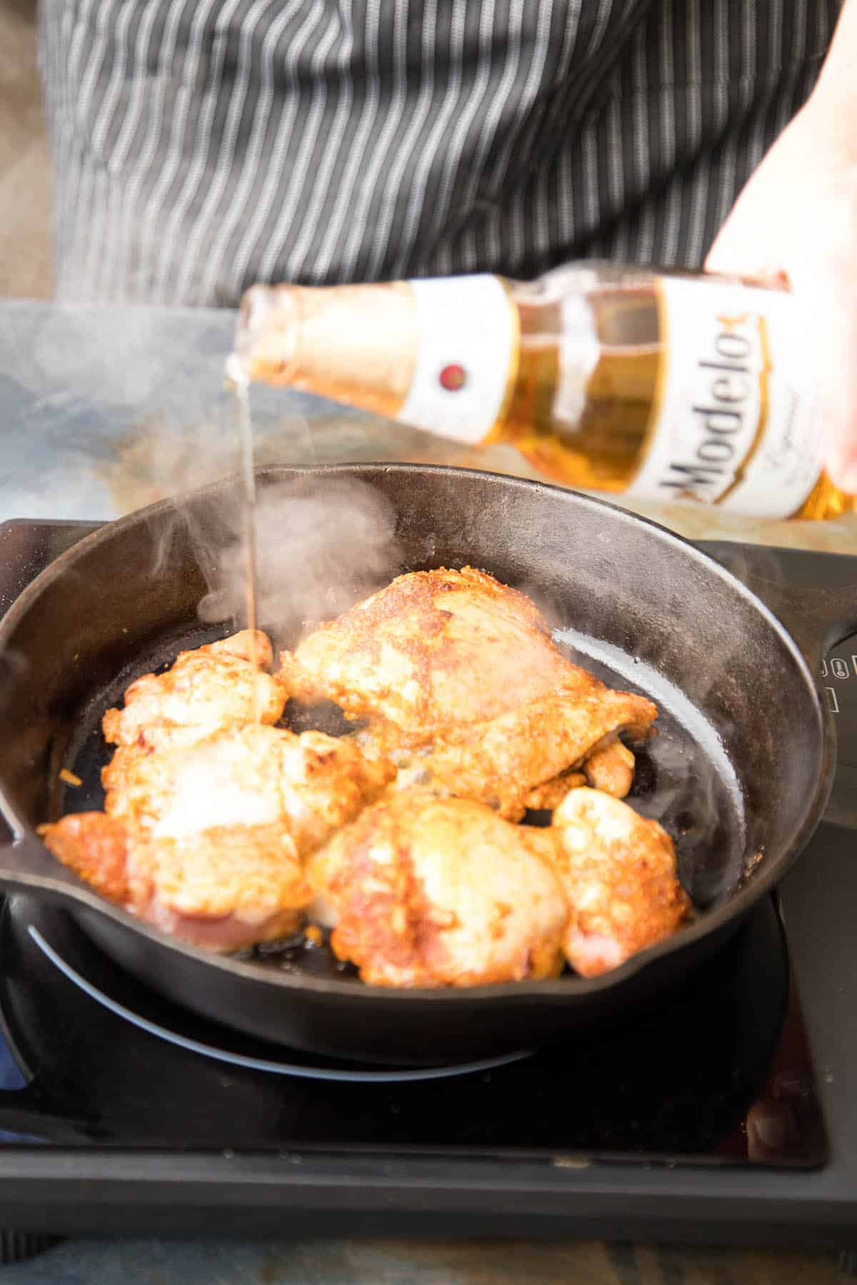 Model Beer makes for juicy pulled chicken