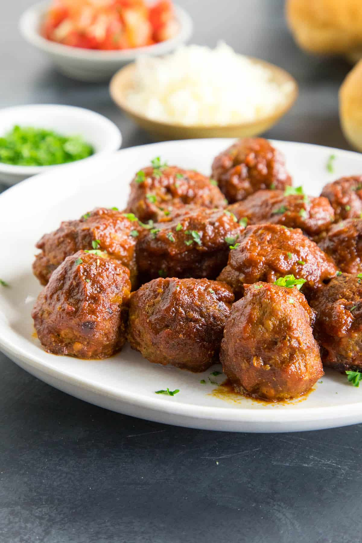 Spicy Meatballs Chipotle Lime Sauce Recipe - Ready for your next party
