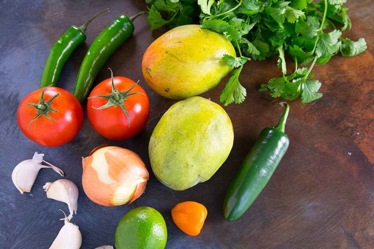Fresh Mango Salsa Recipe Ingredients