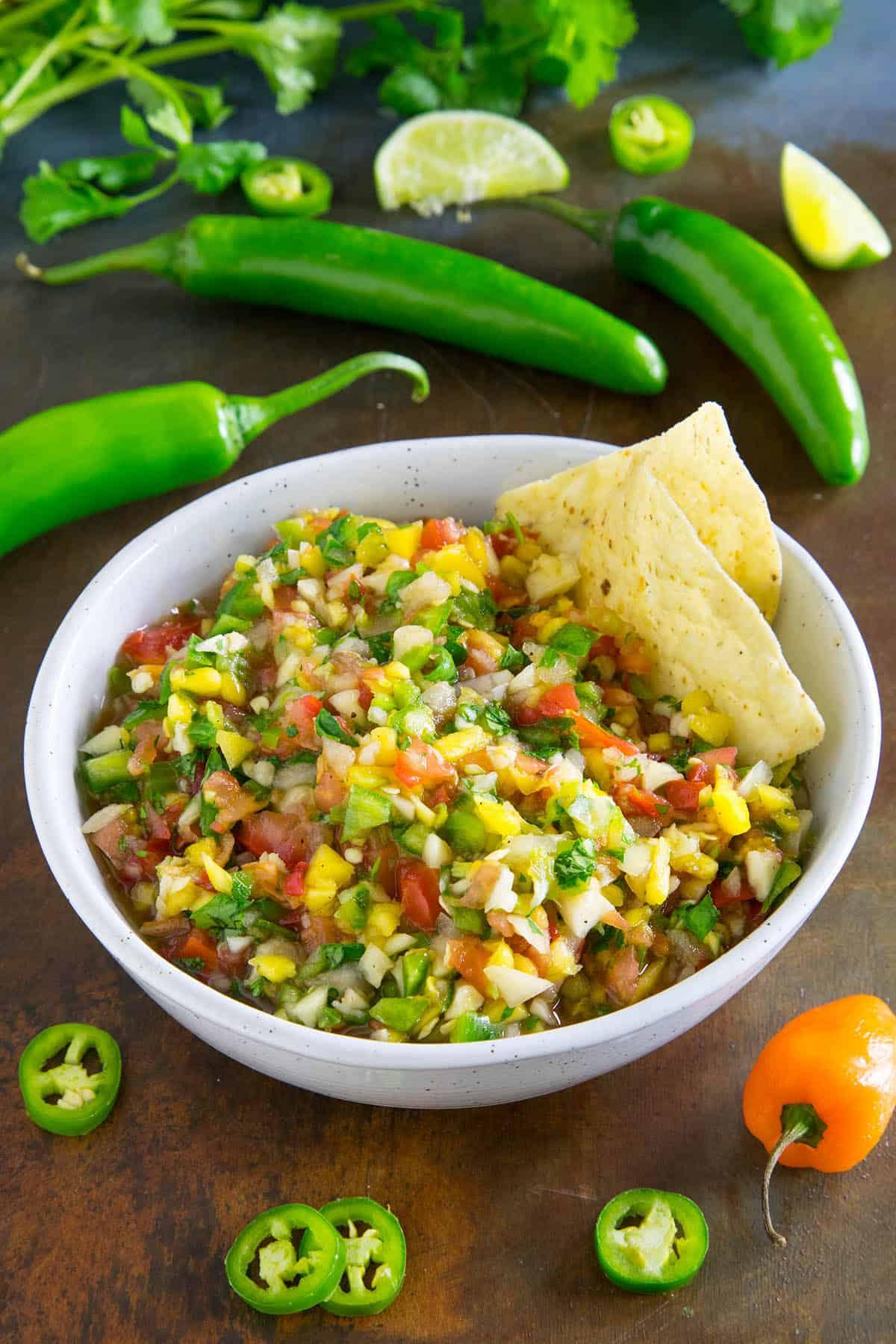Fresh Mango Salsa, Ready to Serve – Get the Recipe