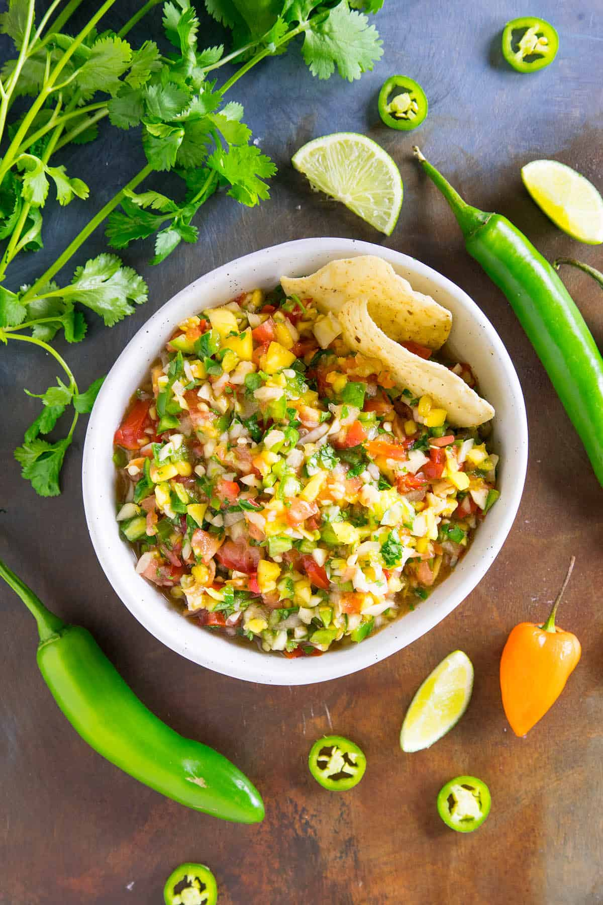 Fresh Mango Salsa is the Perfect Party Appetizer