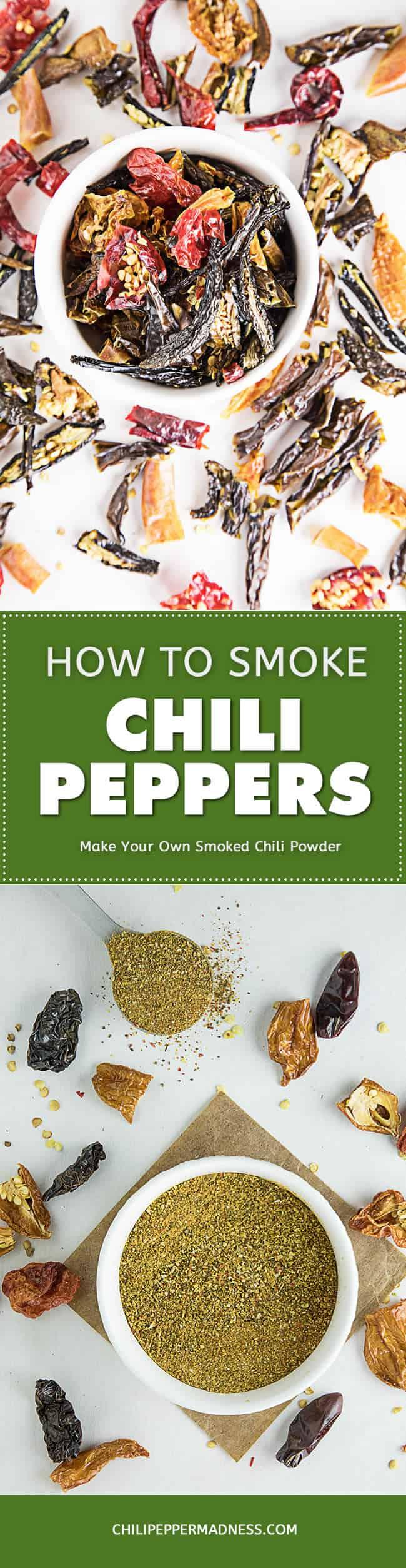 how to Smoke Chili Peppers - Recipe
