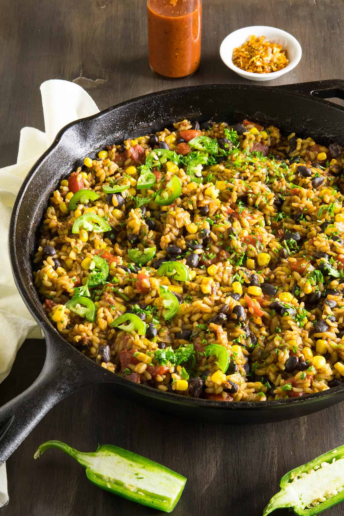 Mexican Rice with Chorizo and Black Beans