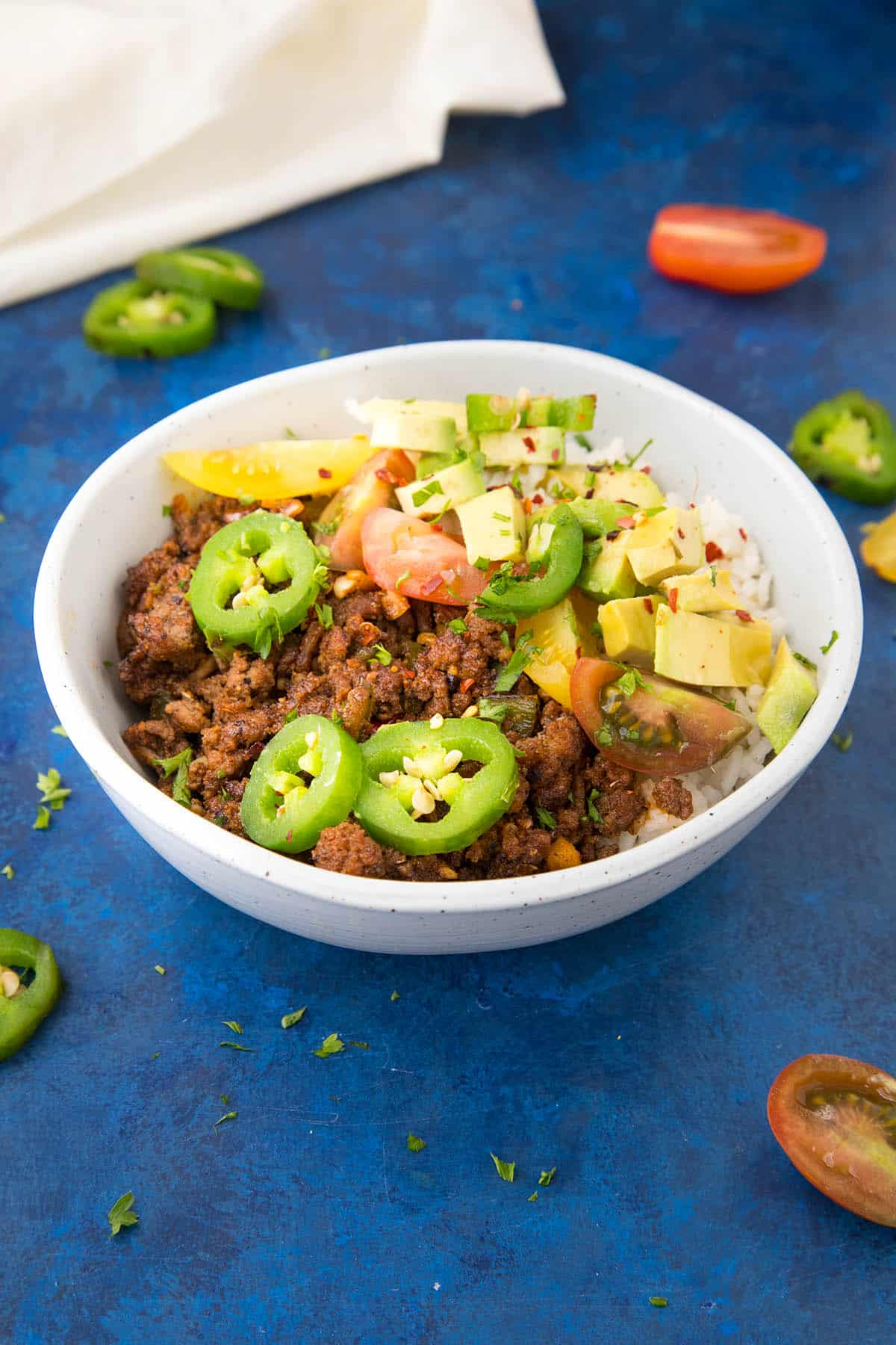 Easy Taco Bowls are ready in 20 minutes. Here is the recipe.