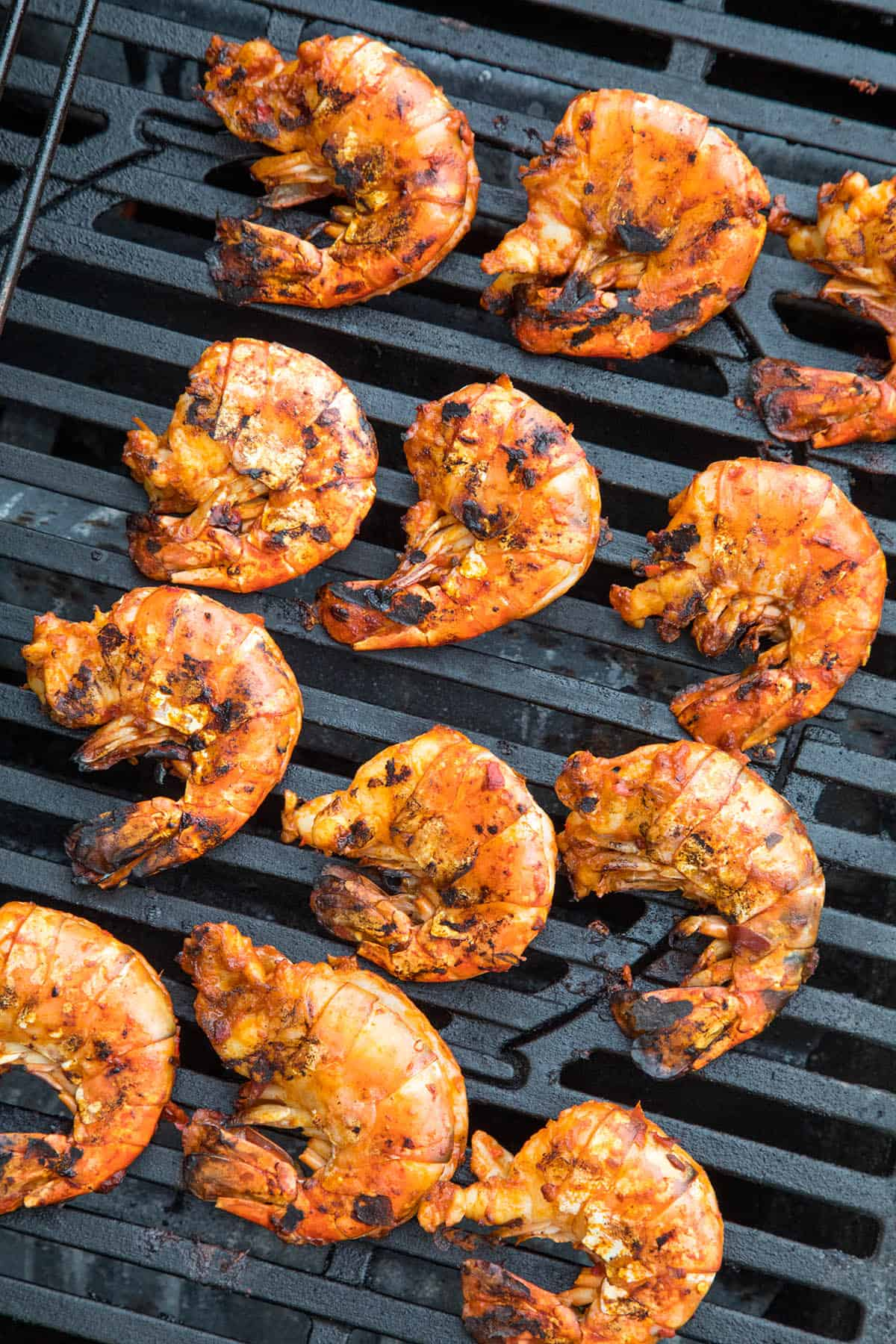 Colossal Grilled Shrimp on the Grill