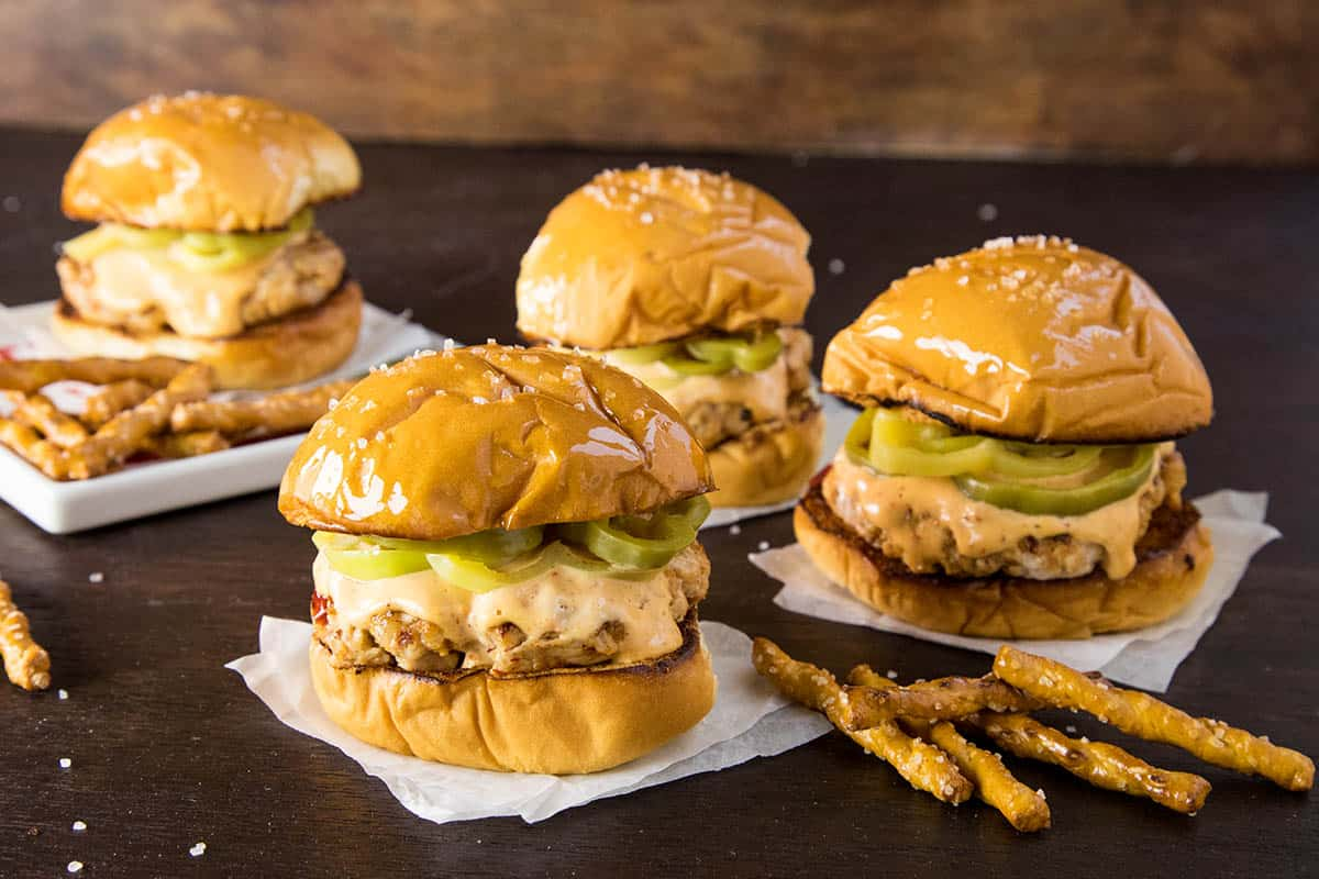 These Fiery Pork Sliders are Slathered with a Creamy Guajillo Mayonnaise