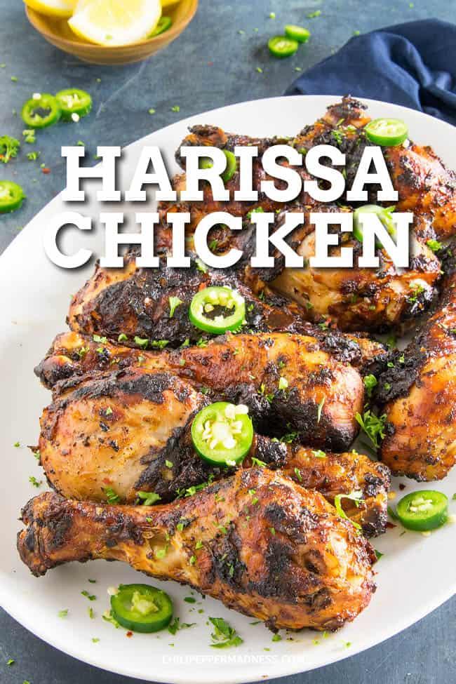 Grilled Harissa Chicken