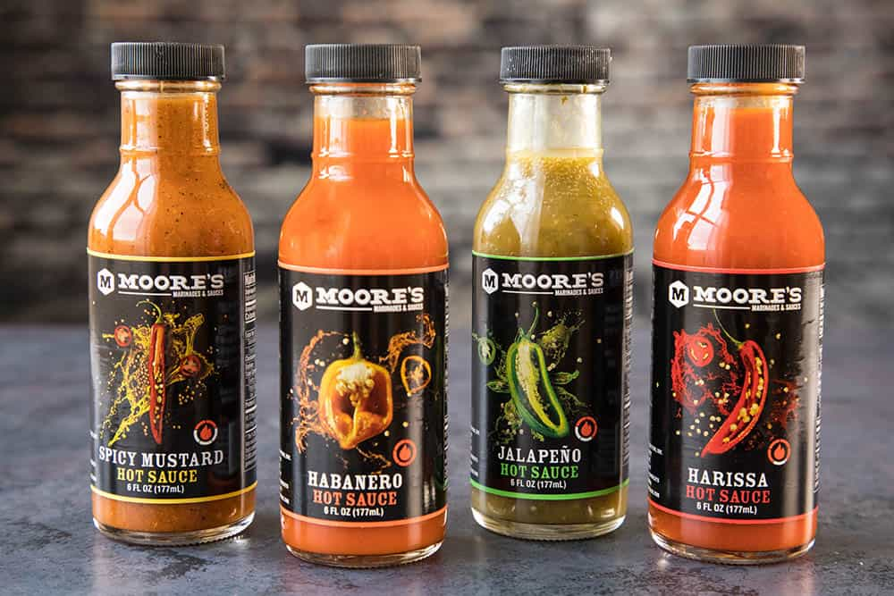 Moores Hot Sauces