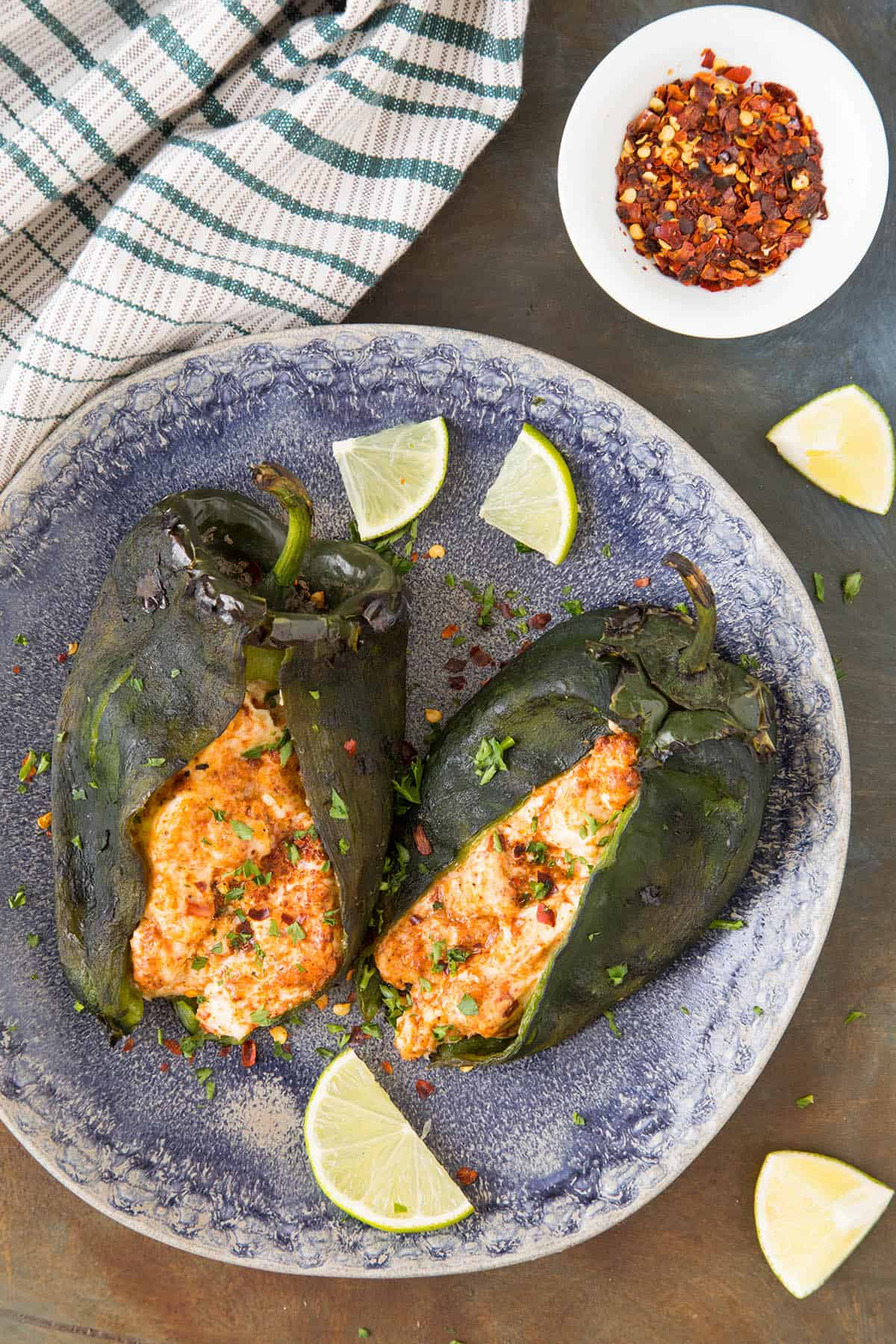 Cream Cheese Stuffed Poblano Peppers - Read to Eat