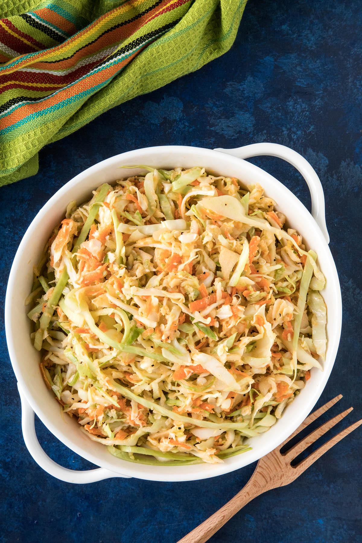 Spicy Creamy Coleslaw - Ready to Eat!