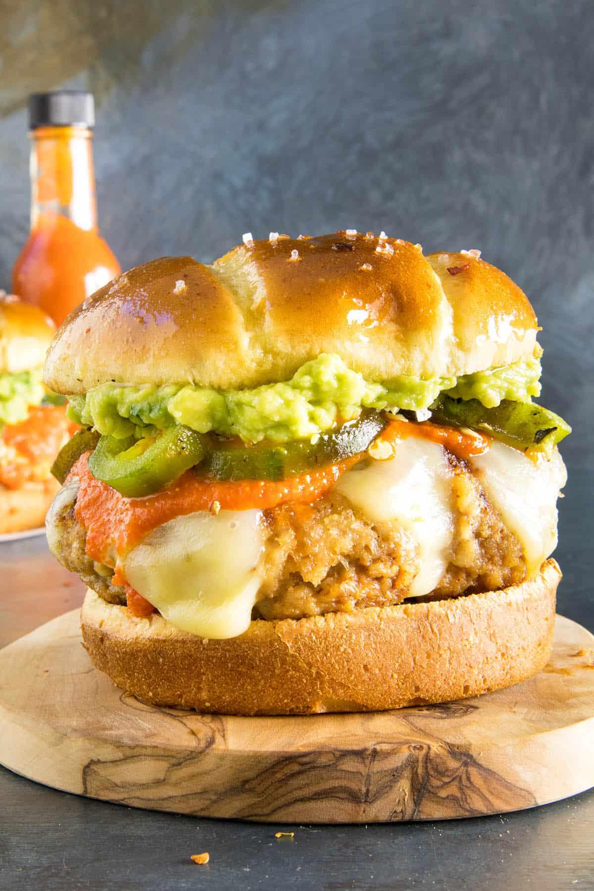 Guacamole Turkey Burgers - Ready to Eat!