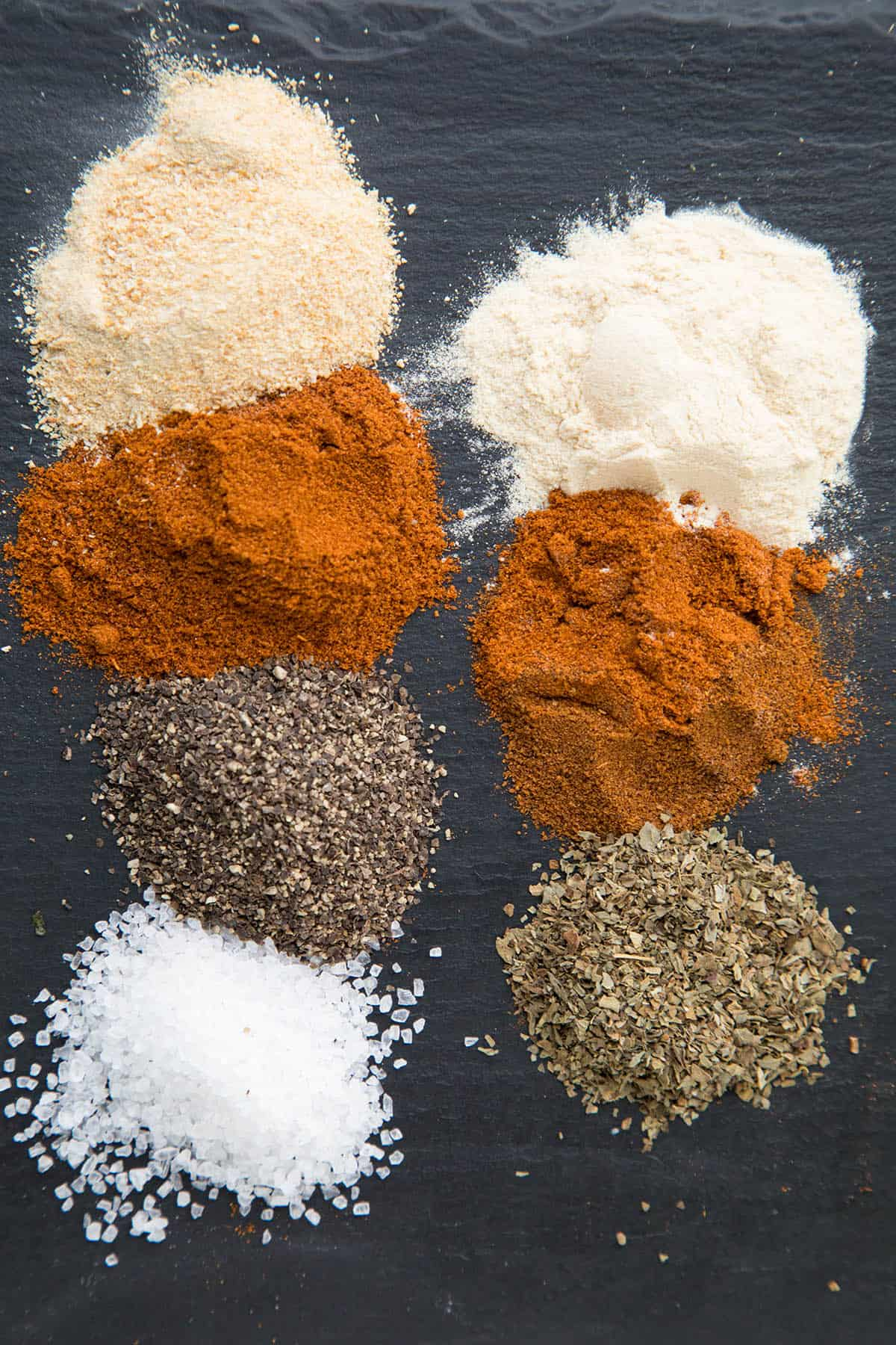 Seasonings for Our Spicy BBQ Chicken Marinade