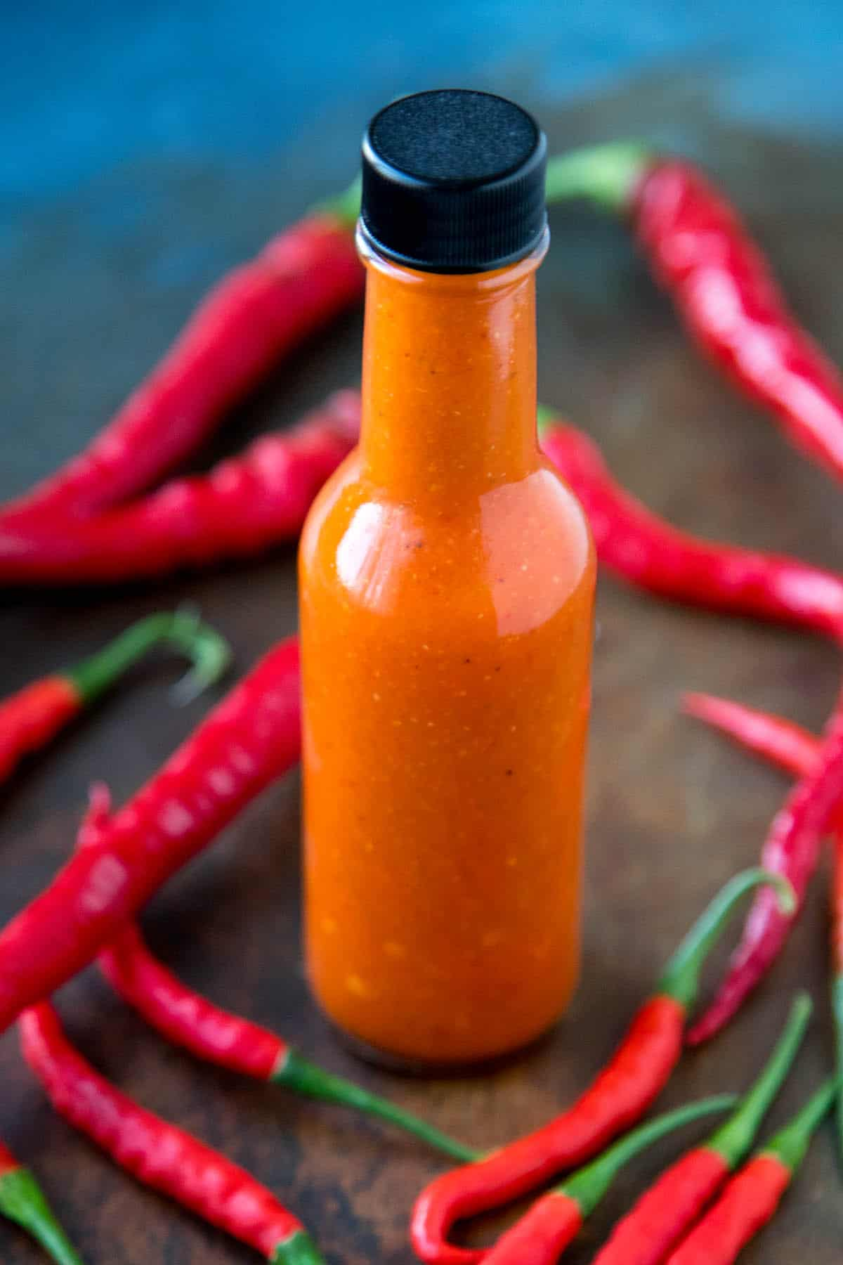 Homemade Cayenne Pepper Sauce - Recipe