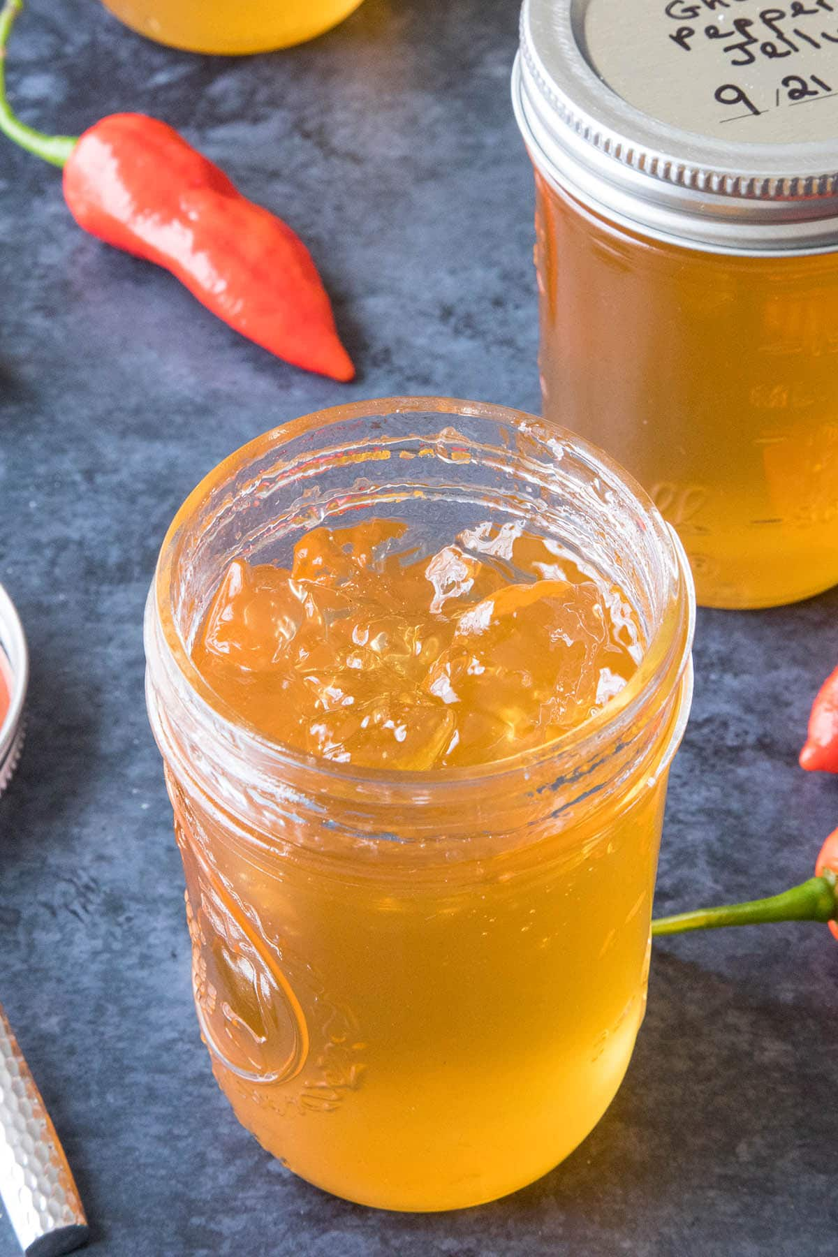 Ghost Pepper Jelly, Ready to Eat!