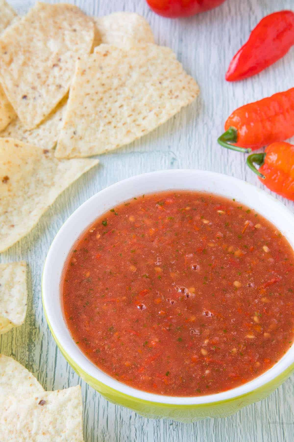 Ghost Pepper Salsa - Ready to Eat!