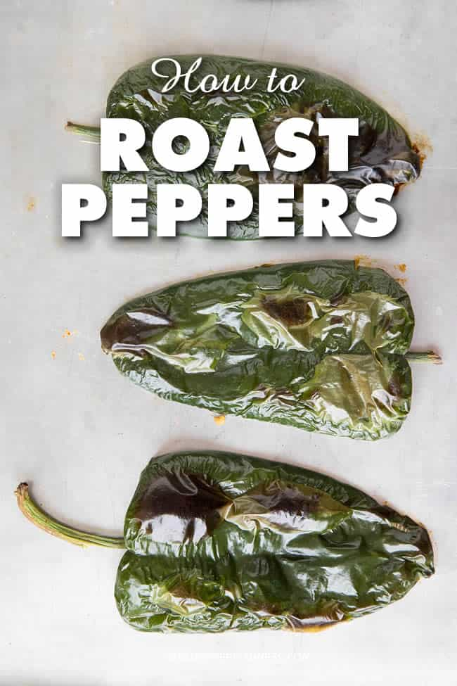 How to Roast Chili Peppers