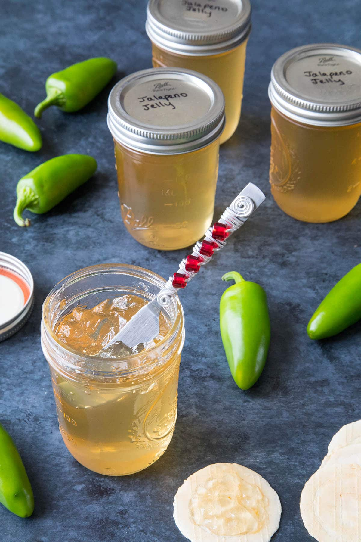 Jalapeno Jelly Recipe - Ready to spread on anything you'd like
