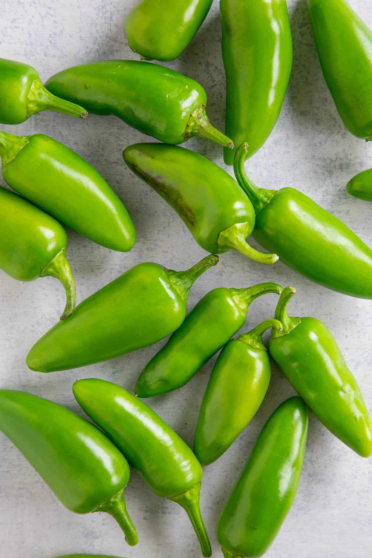 A Pile of Jalapeno Peppers