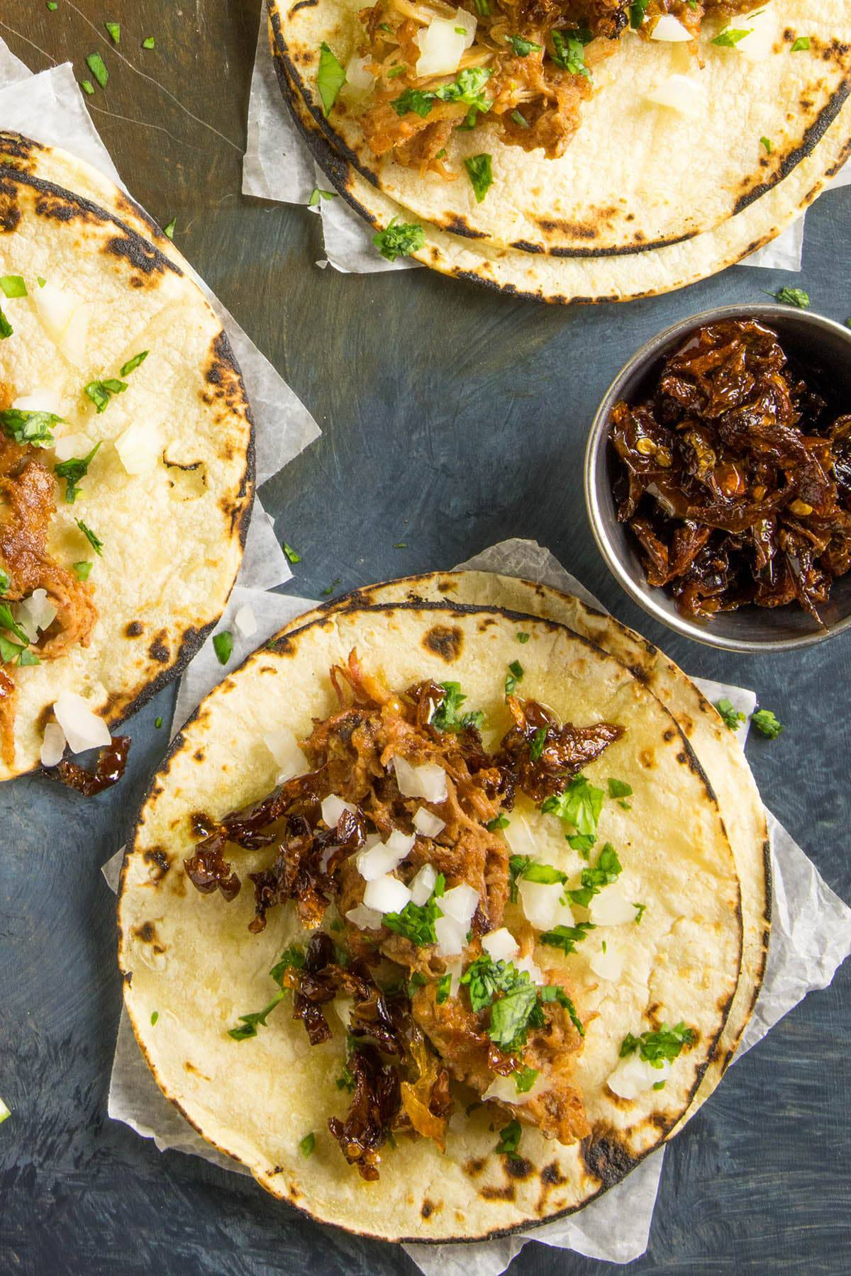 Pulled Pork Street Tacos - Recipe