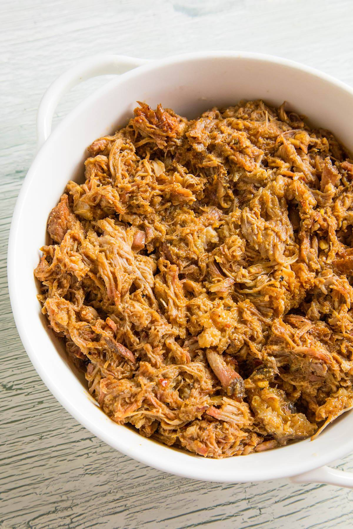 Seasoned Smoked Pulled Pork