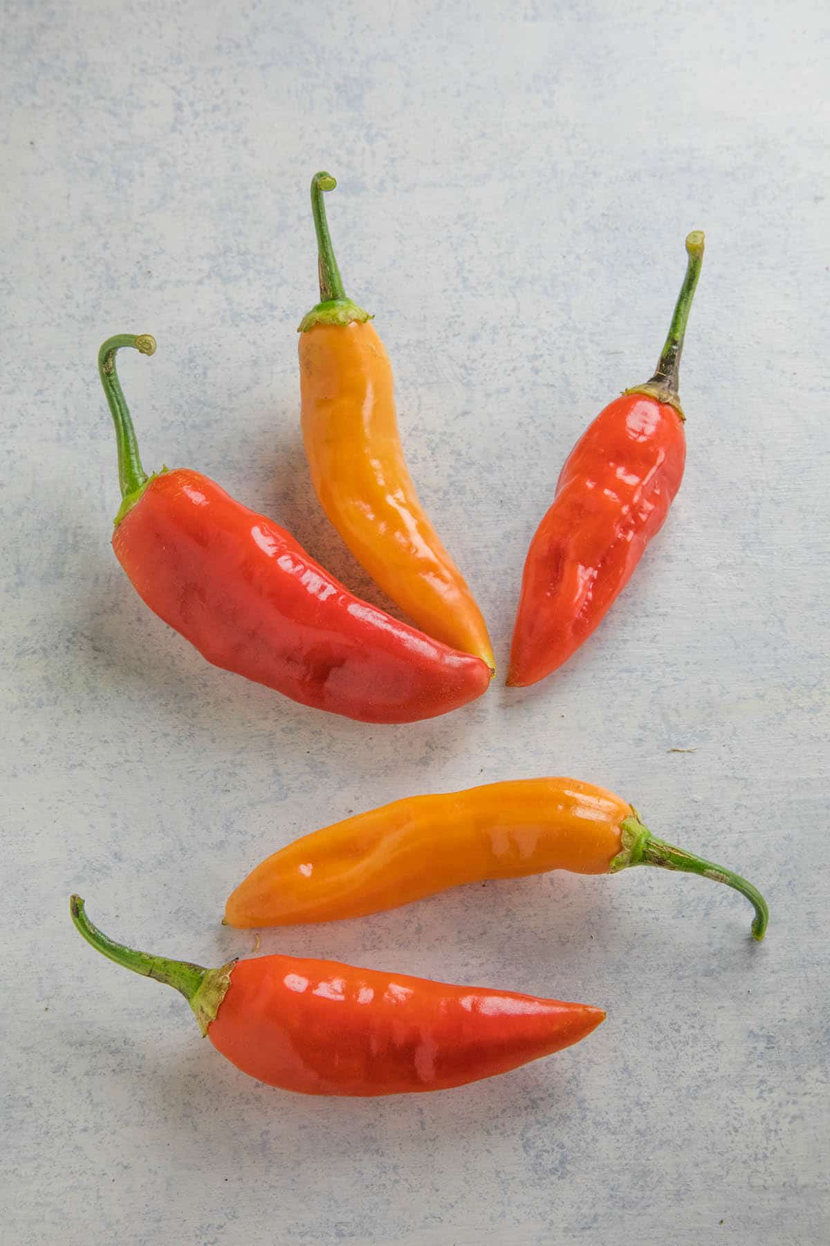 Aji Limo Chili Peppers