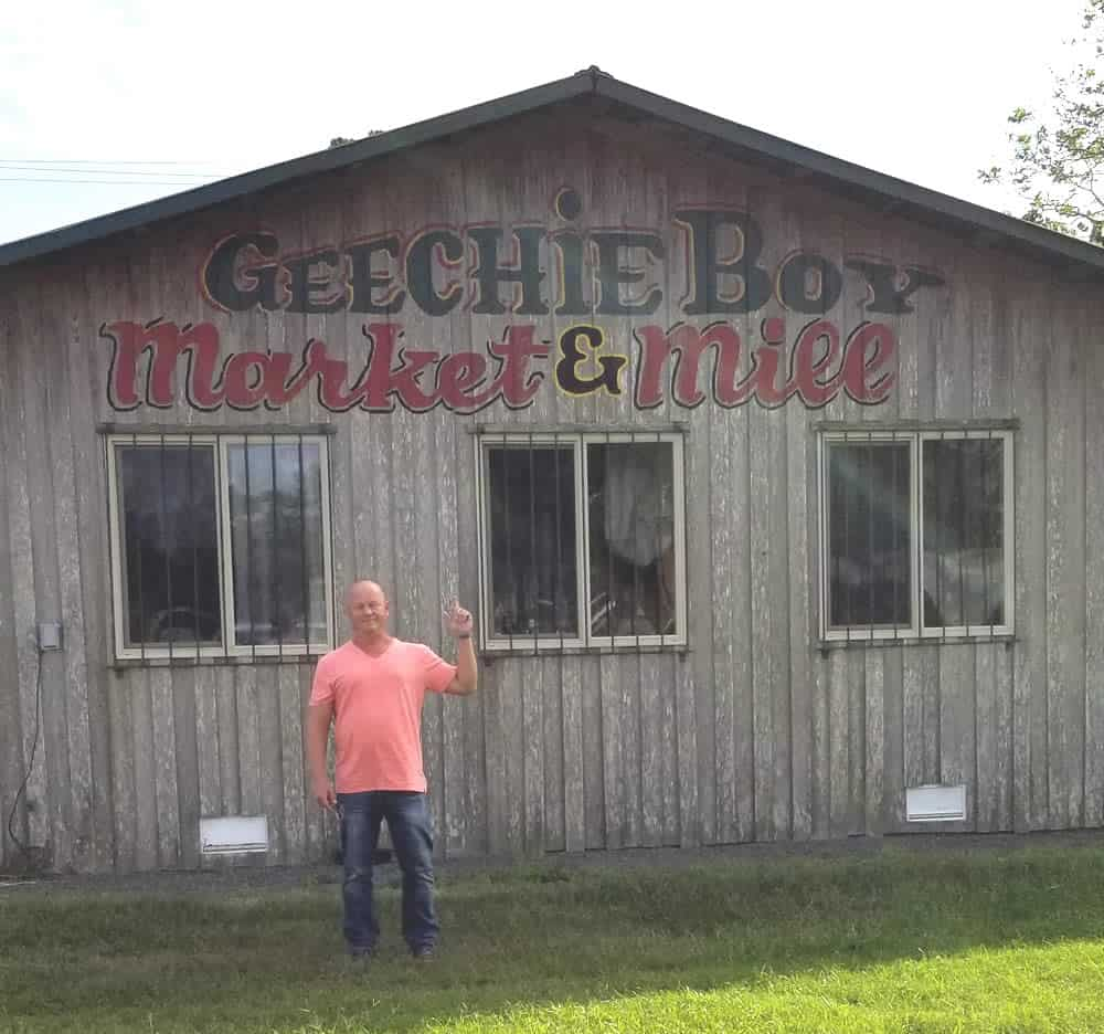 Geechie Boy Mill in Edisto, South Carolina