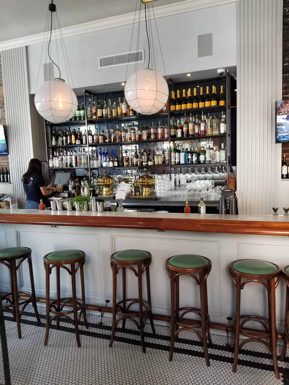 The Darling Oyster Bar in Charleston, South Carolina