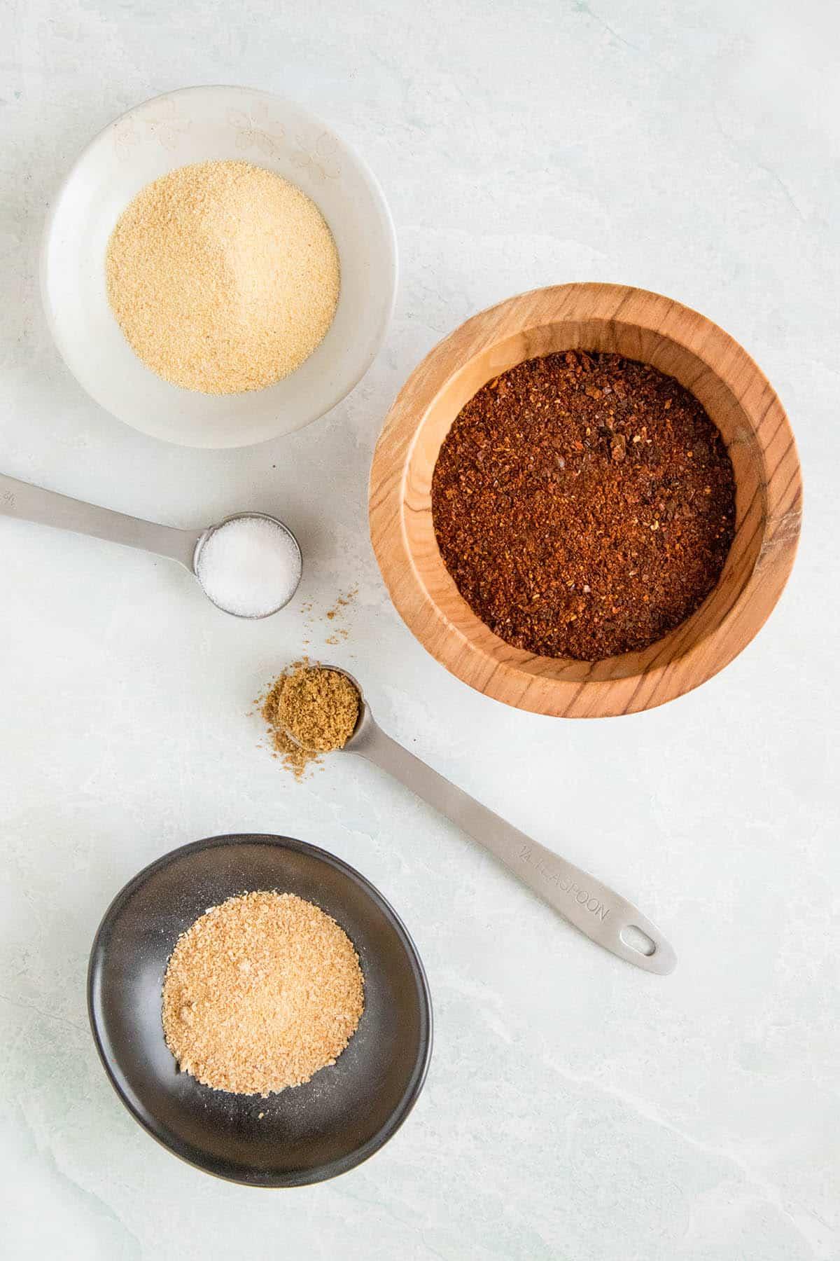 Homemade Chili Powder - Ingredients