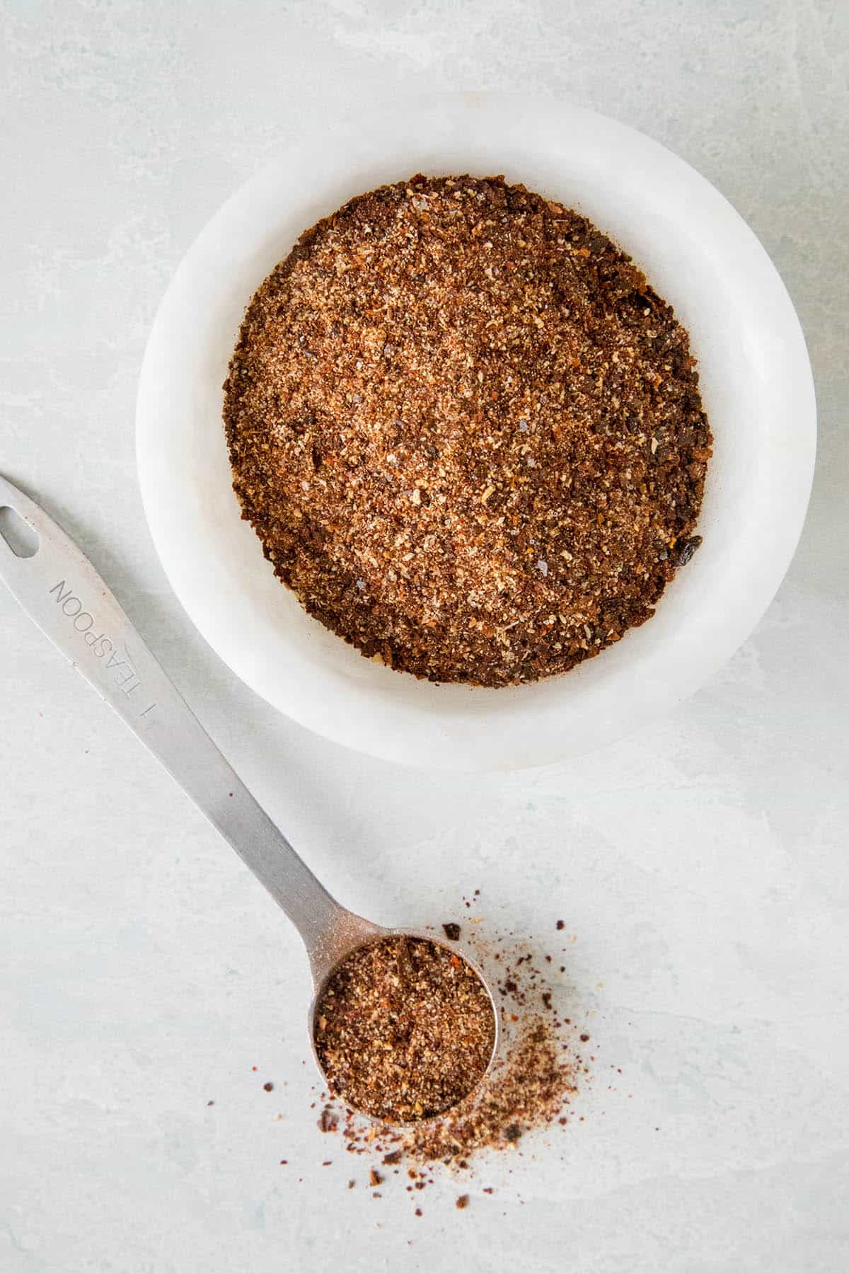 Homemade Chili Powder - In a bowl