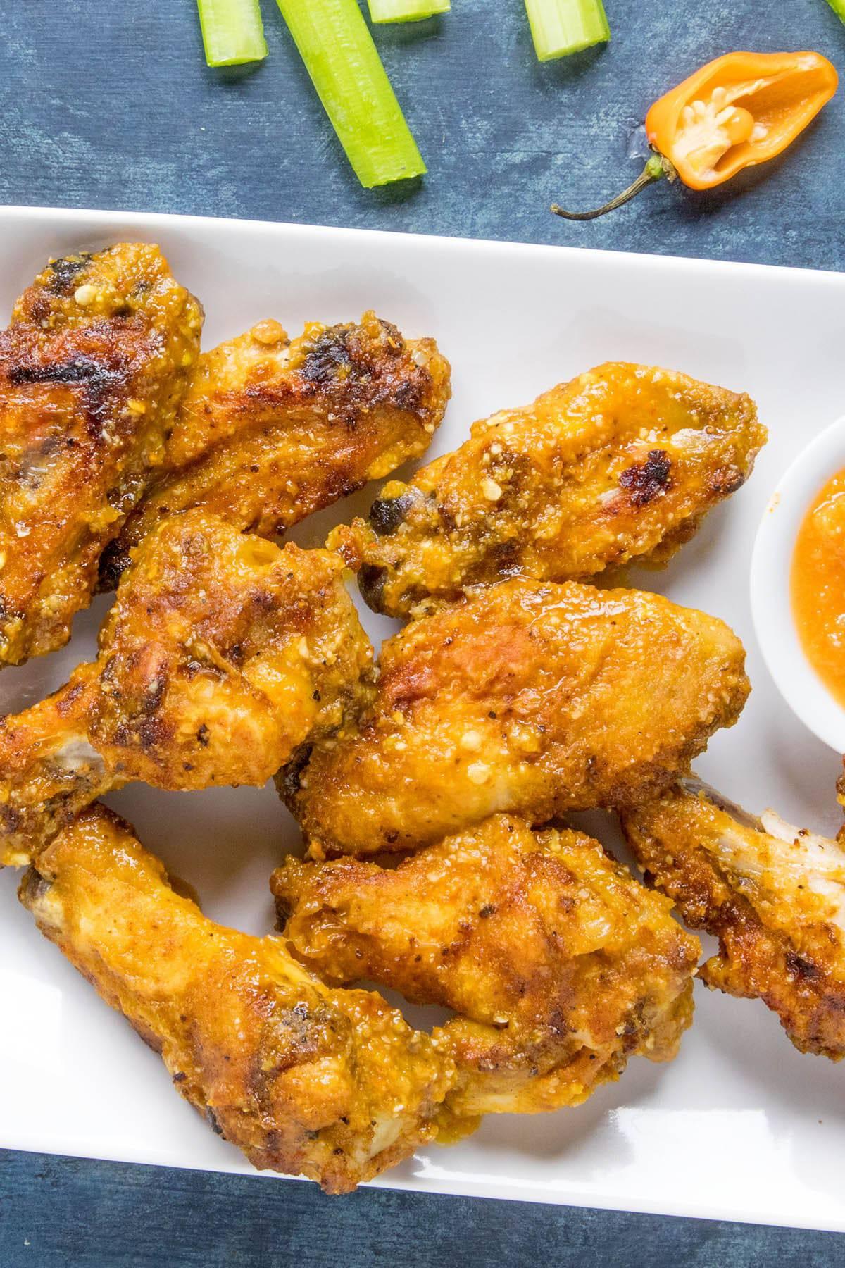 Mango Habanero Chicken Wings - Recipe