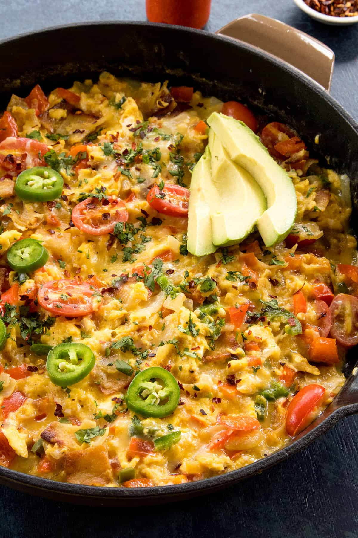 Migas (Scrambled Eggs with Crispy Tortillas)