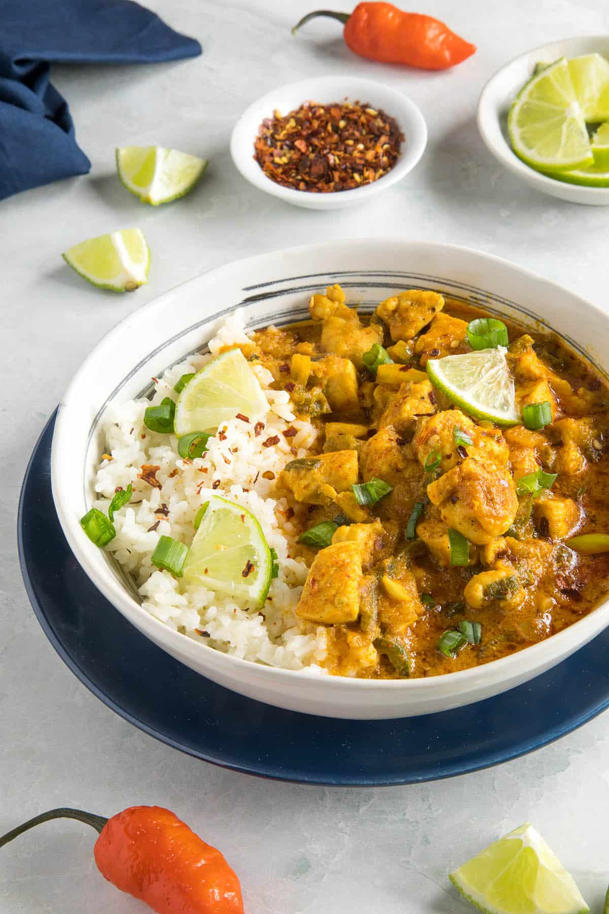Ghost Pepper Chicken Curry