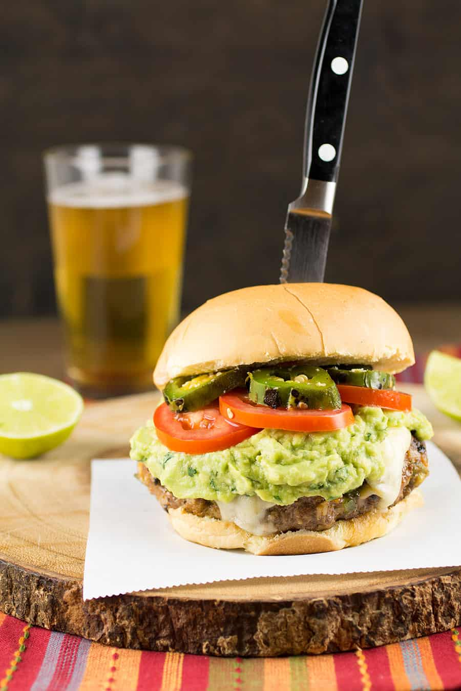 Homemade Mexican Burgers