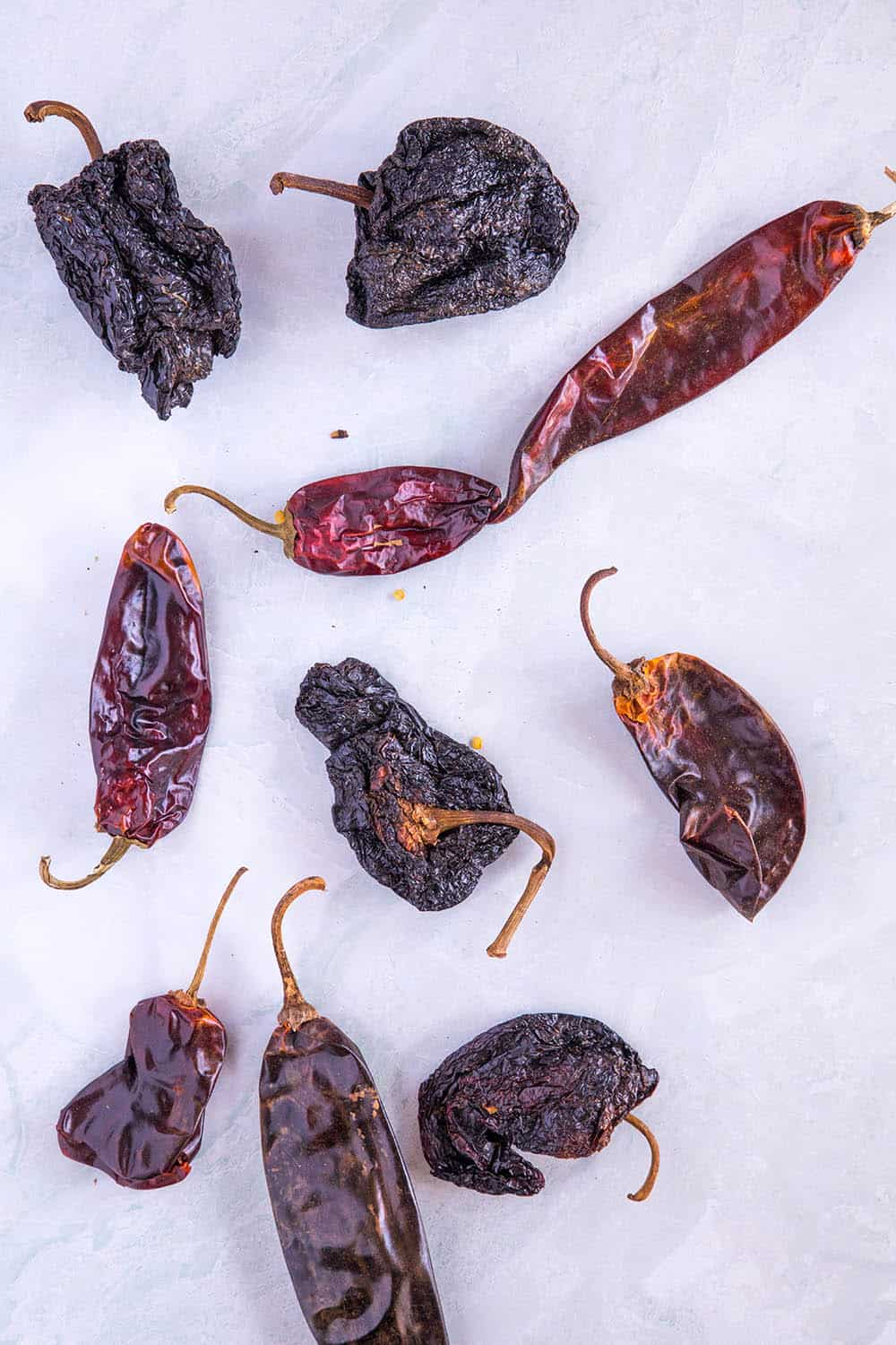 The chili peppers for our Texas chili