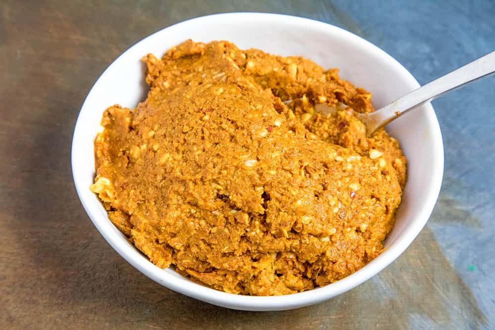 Chicken Korma paste to make our marinade
