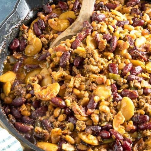 Cowboy Beans Recipe A Gift From The Southwest Chili Pepper Madness