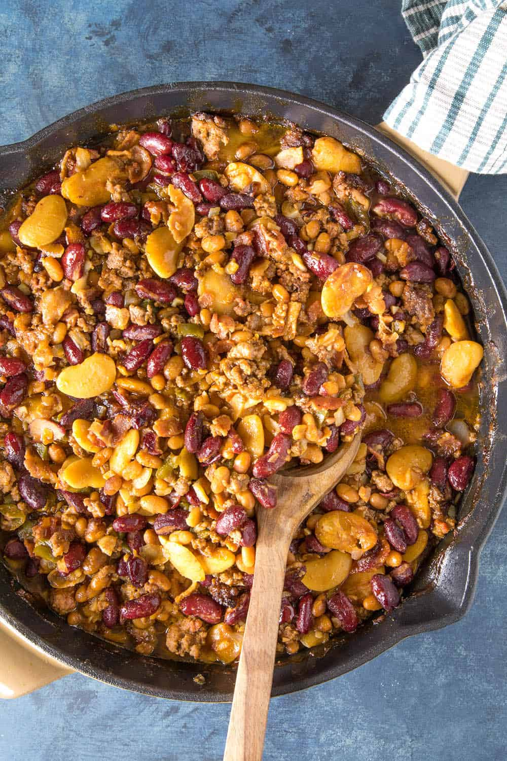 Cowboy Beans, just finished cooking