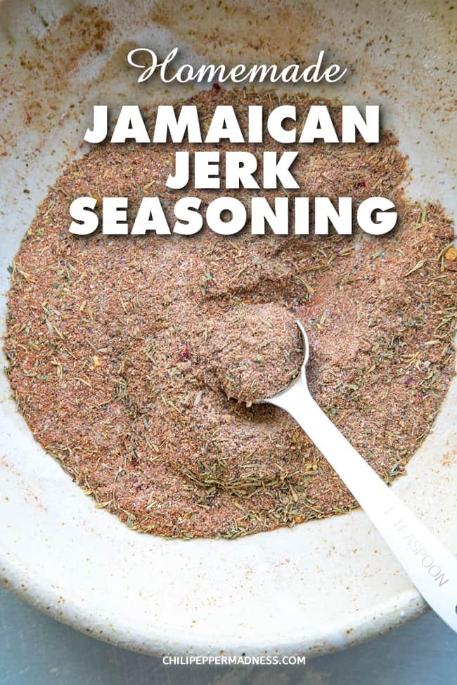 Jamaican Jerk Seasoning - Taste of the Caribbean