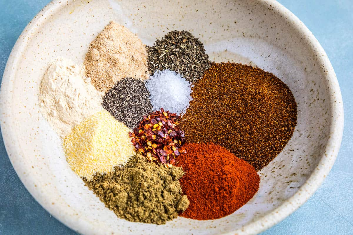 Ten Ingredients for my Homemade Taco Seasoning Recipe