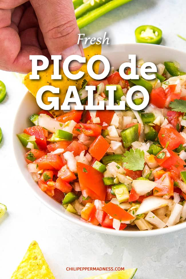 Fresh Pico de Gallo Recipe