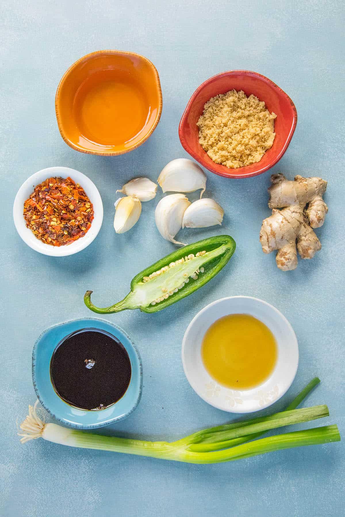 Teriyaki Marinade Ingredients