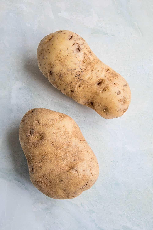 Potatoes for making Baked Cajun Fries