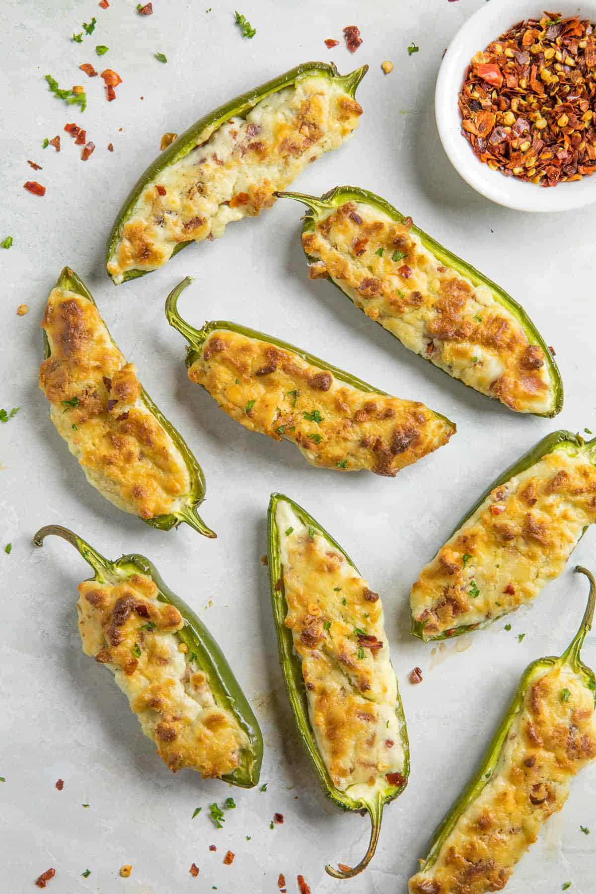 Blue Cheese and Bacon Stuffed Jalapeno Poppers Recipe