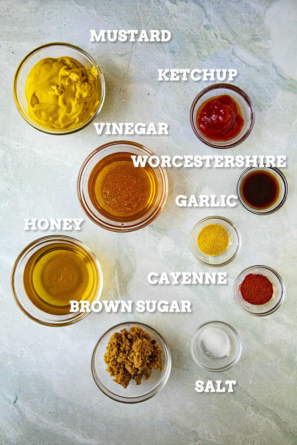 Carolina Mustard BBQ Sauce Ingredients