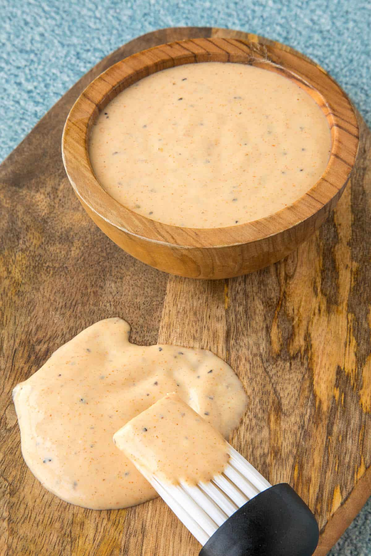 Alabama White BBQ Sauce, ready to serve