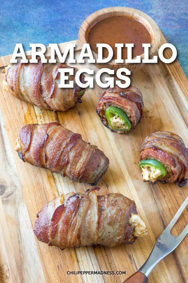 Bacon Wrapped Armadillo Eggs Recipe