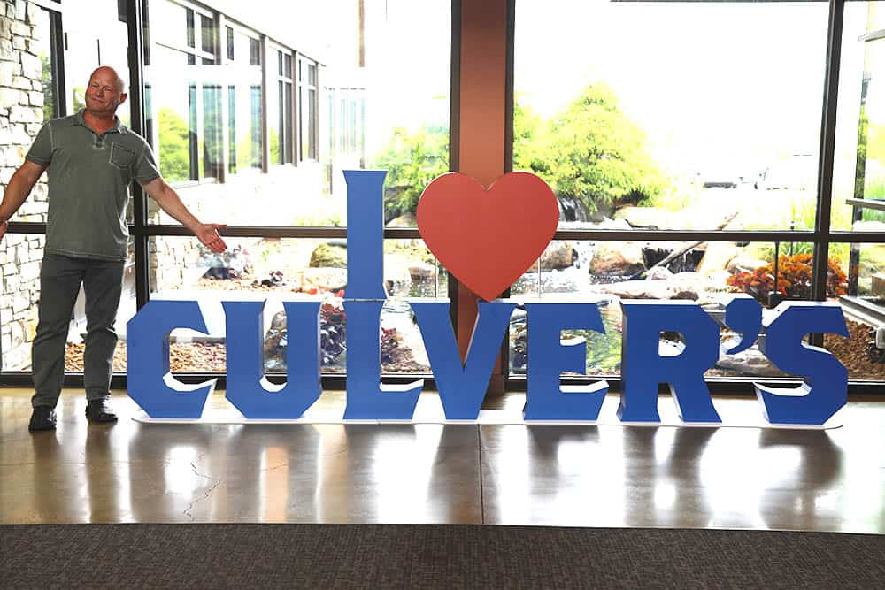 I Love Culver's Sign